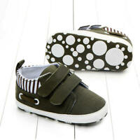 Infant Toddler Baby Boy Girl Soft Sole Crib Shoes Sneaker Newborn 3-18 Months