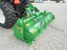 "Rotary Tiller: 93"" Valentini H2300, Tractor 3-Pt, Pto, Qh Compat, Hd 100Hp Gbox!"