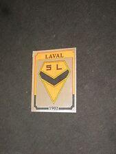 LAVAL STADE LAVALLOIS Image sticker N° 53  FOOTBALL 87  PANINI ECUSSON 1987 FOOT