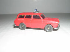 Wiking #? V.W.1500 Variant Fire Service - Red - Imported 1973