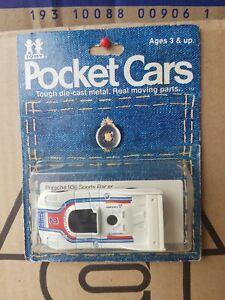 Tomica POCKET CARS - PORSCHE 936 RACER [WHITE] VHTF NEAR MINT