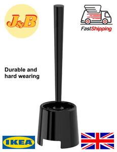 GREAT VALUE Toilet Brush Bolmen For Lavatory And Holder Ikea Black