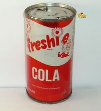 Freshie Cola Flat Top Soda Can Clown Cartoon Fine Foods Store Seattle,Washington