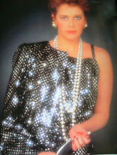 1986 Sylvia Kristel Japan VINTAGE Poster Calendar 20x29 VERY RARE