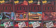 Presto Magix '83 vtg transfers SET OF 4 Darth Vader Ewok Boba Fett Star Wars NEW