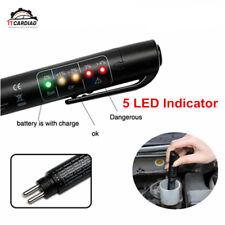 Brake Fluid Tester 5 LED Car Vehicle Auto Automotive Testing Tool For DOT3/DOT4