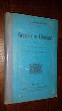 GRAMMAIRE ALLEMANDE - Adler-Mesnard