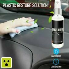 Interior Plastic Plastic Parts Wax Retreading Agent Renewed Plastic Restore US ~