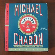 Manhood For Amateurs Michael Chabon Audio Book 8 Hours on 7 CDs Unabridged