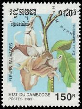 "CAMBODIA 1264 - Wild Flowers ""Datura suaveolens"" (pf56878)"