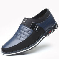 Genuine Leather Men Casual Shoes Loafers Moccasins Slip on Comfty Driving Shoes