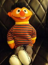 Ernie Vintage Pull String Talking Plush Toy Sesame Street Knickerbocker Pre-Own