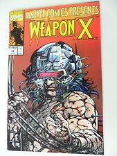 1 x comic-estados unidos-Weapon X-nº 79-inglés-Marvel-z.1 -