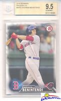 2016 Bowman Prospects #BP62 Andrew Benintendi ROOKIE BGS 9.5 GEM MINT Red Sox