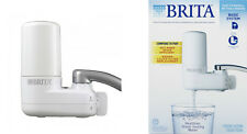 Brita Basic On Tap Faucet Water Filter System Fresh Clean H2O New Free Shipping