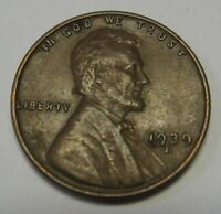 1939-D Lincoln Wheat Cent in Average Circulated Condition Priced Right Free S&H