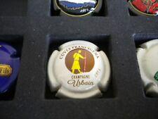 capsule de champagne peinte a la main urbain nats