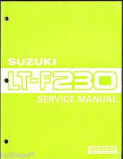 1990 SUZUKI  LT-F230 ATV SERVICE MANUAL / 99500-42042-01E
