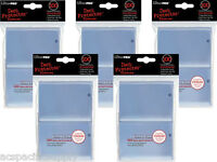 500 ULTRA PRO CLEAR DECK PROTECTORS SLEEVES MTG Standard Gaming Colors Lot