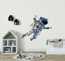 Astronaut #1 Wall Decal Wall Sticker Space Futuristic Sci Fi Boys Bedroom Decor