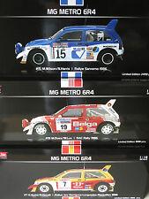 1/18 x3 MG METRO 6R4 Computervisison/33 export/Belga Wilson/Auriol/DUEZ venu en Voisin