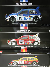 1/18 x3  MG Metro 6R4  Computervision/33 Export/Belga  Wilson/Auriol/Duez