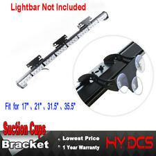 52023 24 28 32LED Strobe Traffic Advisor LED Light Bar Bracket with Suction Cups
