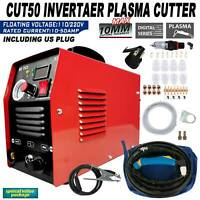 Professional Cutting Machine CUT-50 50 Amp Plasma Cutter 110v/220V Dual Voltage