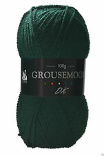 Cygnet Grousemoor DK Knitting Yarn 100g With Wool 601 Tartan Green