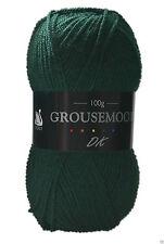 Cygnet Grousemoor DK Knitting Yarn 100g With Wool 601 Tartan Green