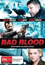 Bad Blood - Starring Sean Bean (DVD, 2014) Brand New & Sealed Region 4
