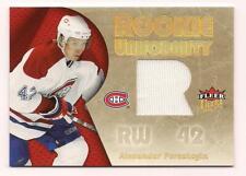 62239ffc1 2006 7 Fleer Rookie Jersey Alexander Perezhogin Montreal Canadiens