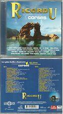 RARE / 2 CD -LES PLUS BELLES CHANSONS CORSE / I MUVRINI, I MANTINI / COMME NEUF