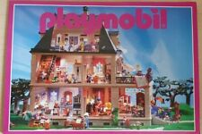 Vintage Playmobil Brochure 1999 Mansion House Cover