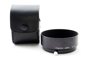 [Near Mint] Canon S-50 Metal Hood for 50mm f/1.4 Leica L39 L Mount from Japan