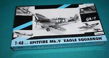 Spitfire Mk.V Eagle Squadron Gartex Hasegawa 1/48 Factory Sealed.