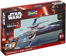Revell 06696. Star Wars - Caccia X-Wing resistenza con suono . Scala 1/50