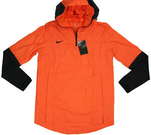 NIKE Activewear Lightweight Player Jacket- NEW- $95- Orange sports Windbreaker