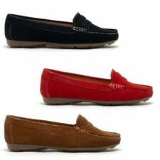 Hush Puppies MARGOT Ladies Womens Casual Slip On Breathable Suede Loafers Shoes
