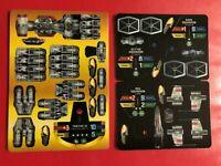 PP748 Scythe /& Red Squardron Fighter 2 Star Wars Pocketmodel TCG Promo Dark