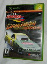 Classic IHRA Drag Racing 2004 (Microsoft Xbox, 2004) with Plastic Case