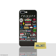 "Friends Phone Case/Cover For Apple iPhone 8 Plus (5.5"") Screen Protector / Text"