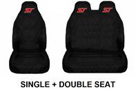 ST Van Seat Covers Protectors Heavy Duty Waterproof 1 + 2 fits Ford Transit