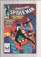 THE AMAZING SPIDER-MAN #252 NM 9.4 1ST BLACK COSTUME (VENOM) 1984