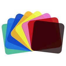 Neewer 8-Pack Lighting Color Filter Transparent Color Correction Filter Sheet