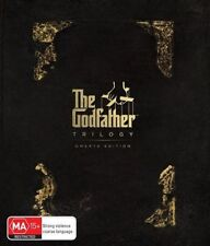 The Godfather Trilogy (Blu-ray, 2017, 3-Disc Set)