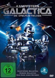Battlestar Galactica + Mission -The Cylon Attack -Lorne Greene NEW UK R2 DVD Box