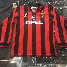 Maglia Shirt Camiseta Ac Milan 1995 1996 Lotto Vintage Home 2018/19