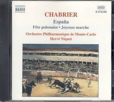 Naxos CD 8-554248 Chabrier - Espana + Fete Polonaise + Joyeuse Marche+Orch works