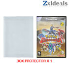 Box Protector Sleeve for GameCube Games Wii U PS2 XBOX Custom Clear Plastic Case